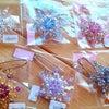 きれい☆~*雪の結晶のブローチ・ネックレスが届いています♪の画像