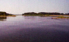 安曇川河口