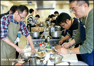 男子料理教室 メンズキッチンスタイル