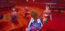 徒然ゲームプレイ日記‐Wii‐【スカウォ】ハープの演奏後(以前より拍手増)