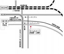 ローレルコート地図