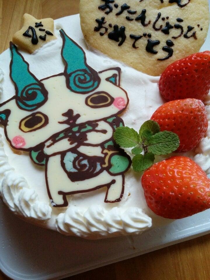 コマさんのお誕生日ケーキ 名古屋市守山区 手作りお菓子とパンのお