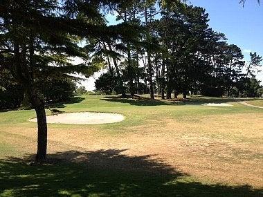 チャンバレインパークゴルフ場 4番ホール