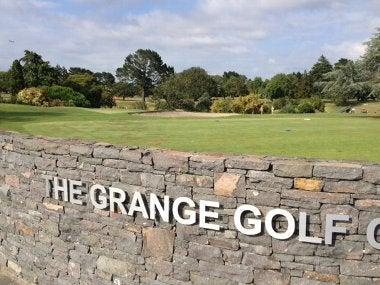 グレンジゴルフ場 看板