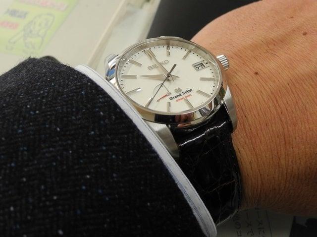 huge discount b7680 6e3b0 腕時計遍歴22 (SBGA129を革ベルトに)-GSスプリング ...