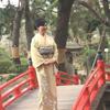 縮景園にてジャパンビューティー連動企画の画像
