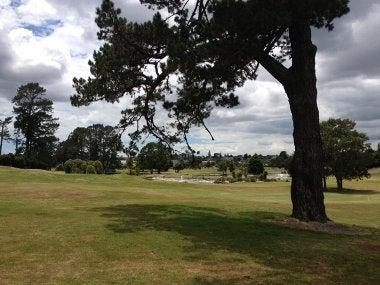 アカラナゴルフ場 コース風景