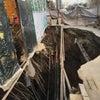 ▼唸声中国写真/北京で道路陥没、原因は違法地下室、しかも持ち主は徐州市の人代の画像