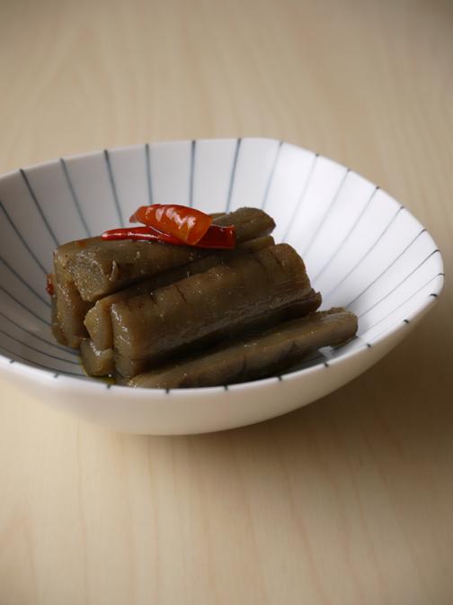 ごぼうのオリーブオイル炒め煮02