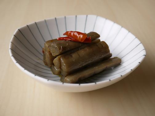 ごぼうのオリーブオイル炒め煮01