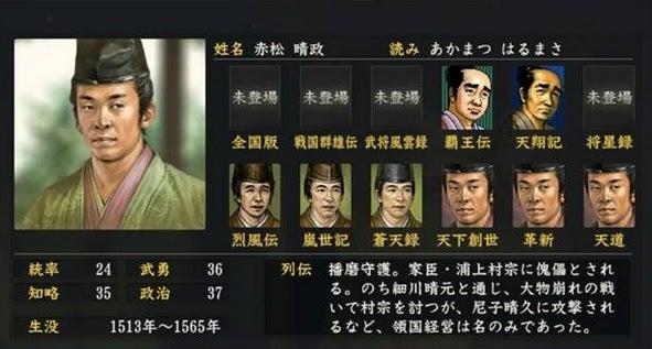 赤松晴政 (あかまつ はるまさ)...