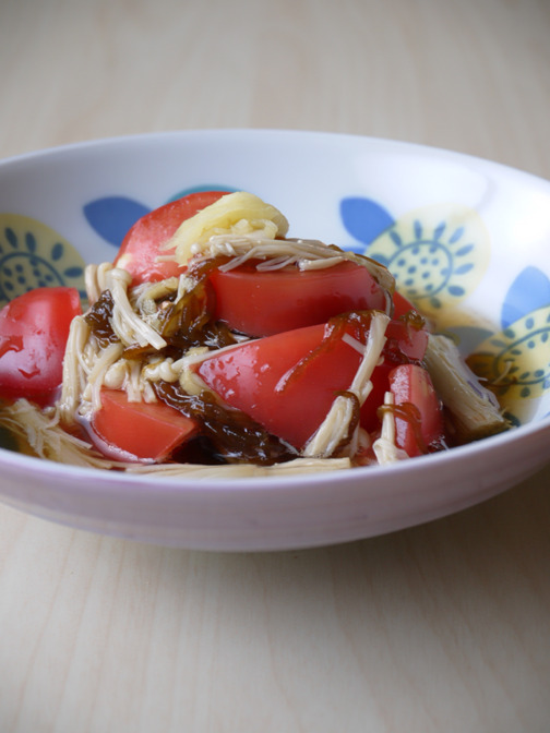 もずくとトマトの酢の物03