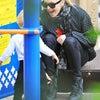 1/30 ファーギー 息子アクセル君を連れて公園へお出かけの画像