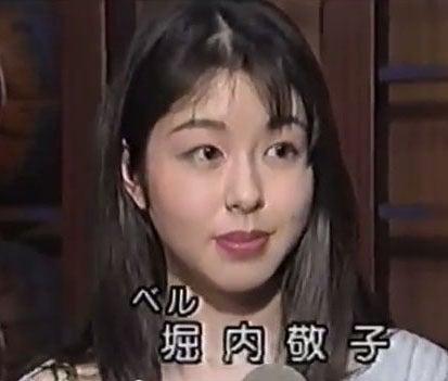 劇団時代の堀内敬子