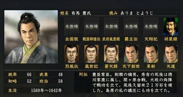 有馬豊氏 (ありま とようじ) |...