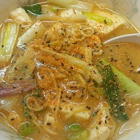 味噌豆腐ラーメン800円@天下一らーめん(茨城県日立市)の記事より