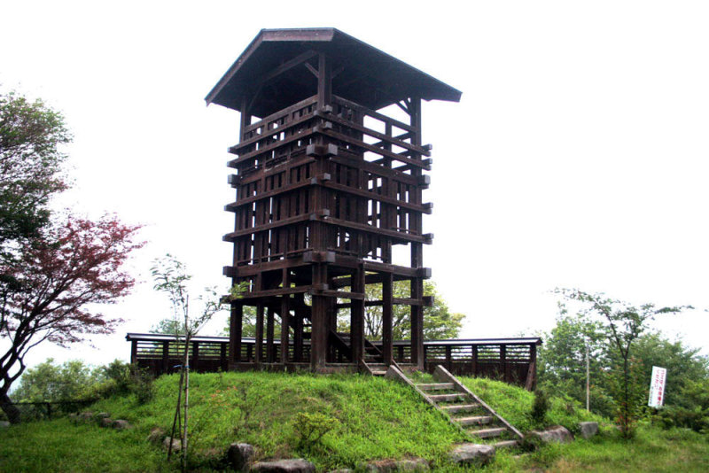 久米ヶ城/④模擬の櫓