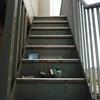 階段側桁&蹴込板塗装の画像
