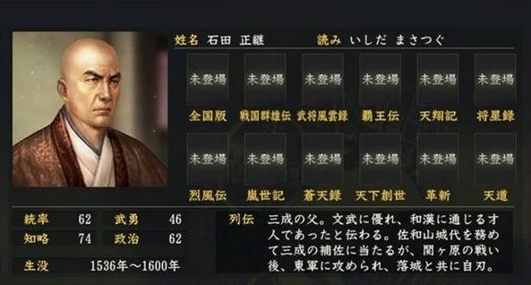 石田正継 - Ishida Masatsugu - ...
