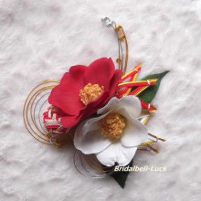 椿の和装髪飾りの記事に添付されている画像