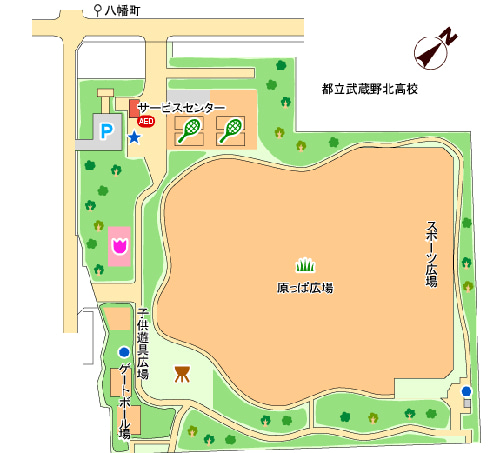 武蔵野中央公園 bbq
