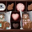 猫チョコ バレンタイ…
