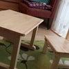 kids desk&chairの画像
