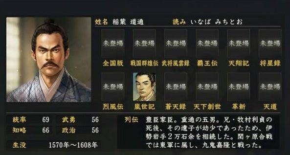 稲葉道通 (いなば みちとう) |...