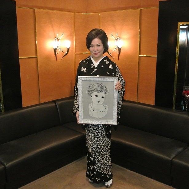 伊藤由美ママ 岩城ハルオさん絵画