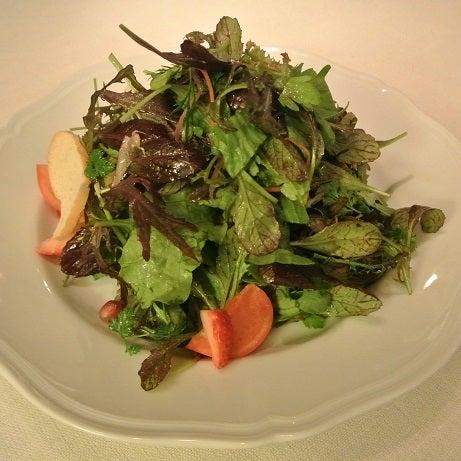 ジャッジョーロ銀座 15種類のハーブサラダ