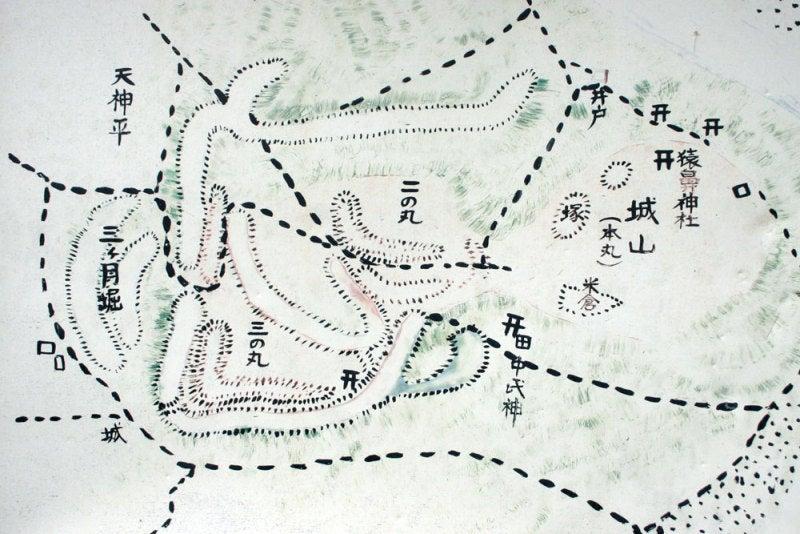 大島城/③案内図