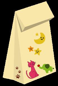 紙袋サンプル動物