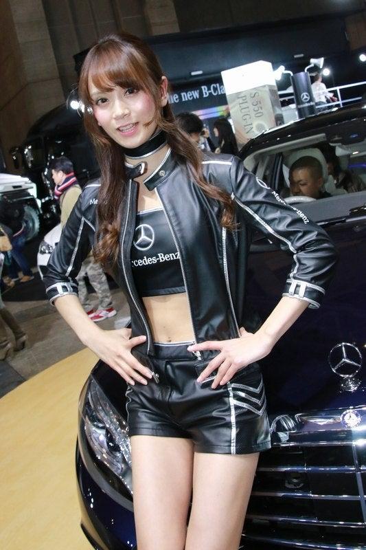 New Mercedes Pickup >> 東京オートサロン2015 (MERCEDES 三城千咲さん) vol.8 | シーターのブログ
