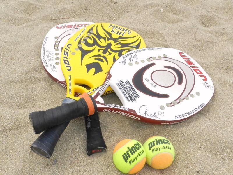 □ビーチテニス用具の紹介 | Enjoy Beach Tennis 始めようビーチテニス