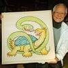 亀さんと蛇さんの画像