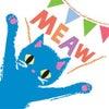 LINE スタンプリリース!『しあわせの青い猫。』の画像