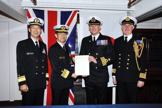 戦車兵のブログ英海軍が海自に連絡官 米以外から初