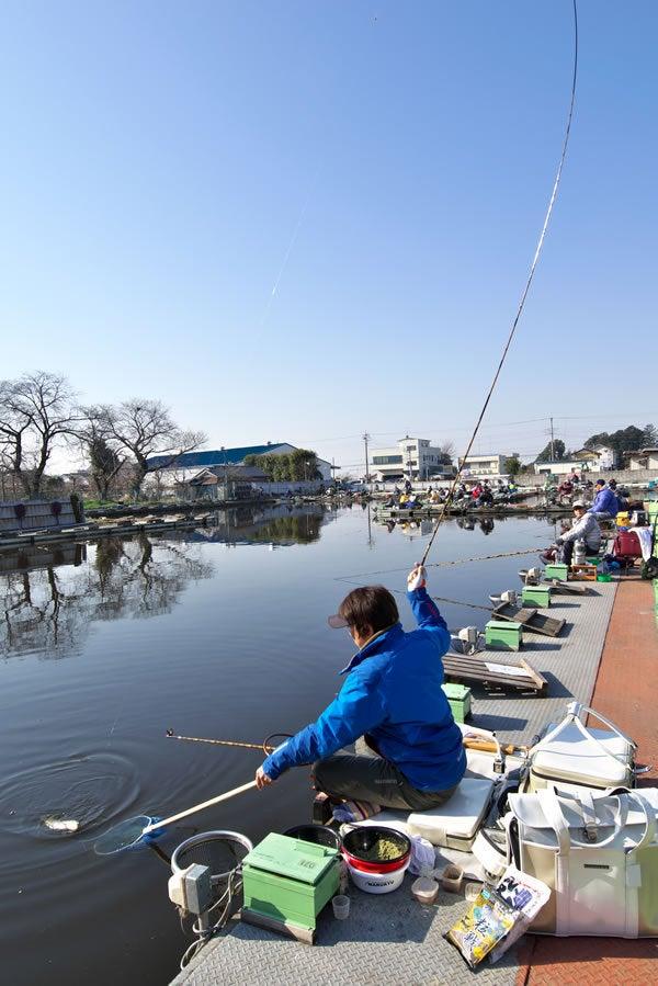 伊藤さとしが段差の底釣りをガイド