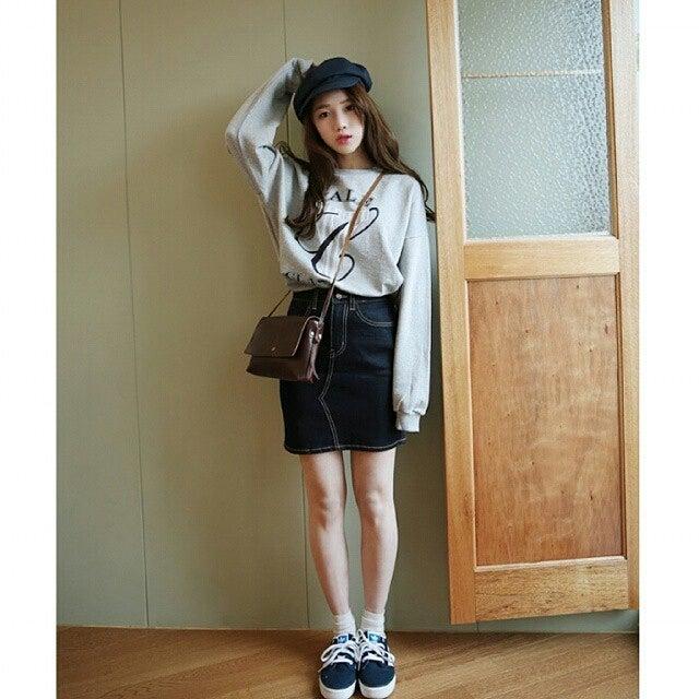 韓国ファッション 春服