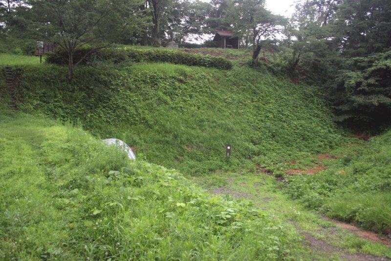 福与城/④主郭の堀