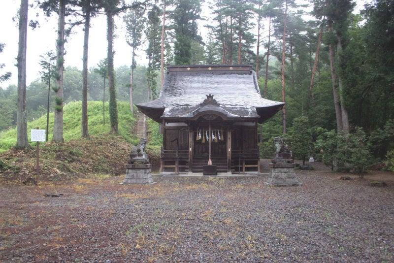 蟻塚城/⑤御射山神社