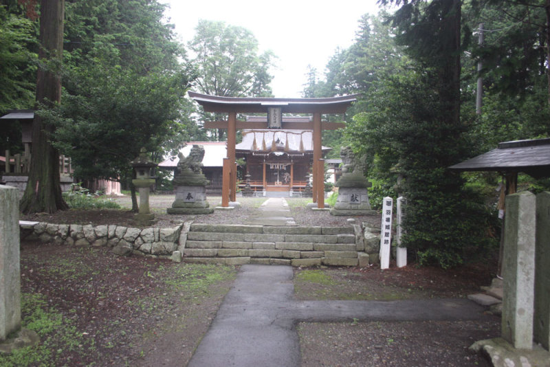 羽場城/①手長神社