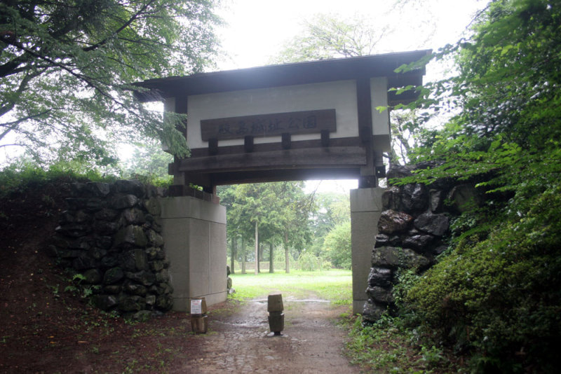 殿島城/②櫓門