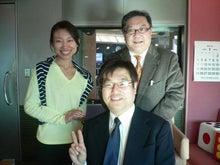 月曜キックスにて 左は塩澤未佳子アナ