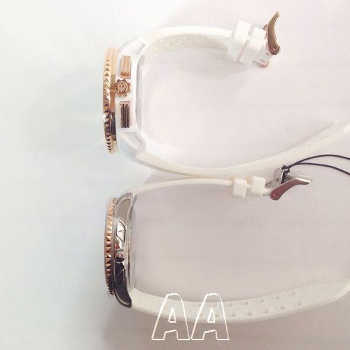 スリム腕時計とガリバー腕時計の大きさサイド比較2