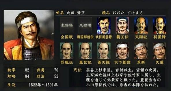 「太田資正」の画像検索結果