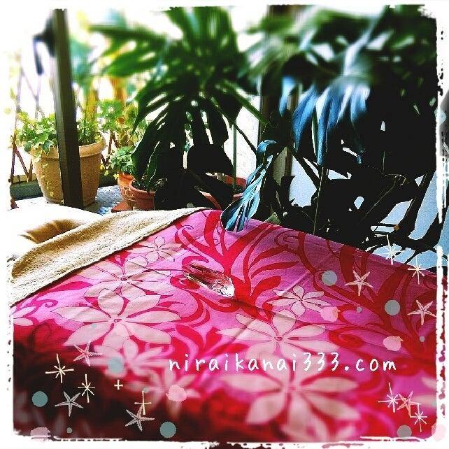 $兵庫県西脇市|小さなリラクゼーション屋さんの、ココロに効くボディケア(ロミロミと美容整体とリフレクソロジー)-bed12