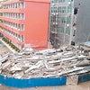 ▼唸声中国写真/深圳の小学校、夜中に突然垂直崩壊、死傷者なしの画像