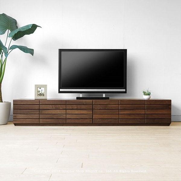 総無垢・オール無垢材を使用したTVボード