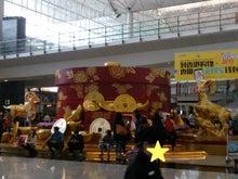 香港空港正月飾り